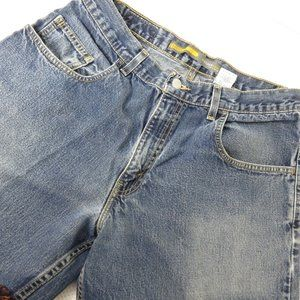 Vtg 90's Levis SilverTab Oversized Baggy Jeans 33